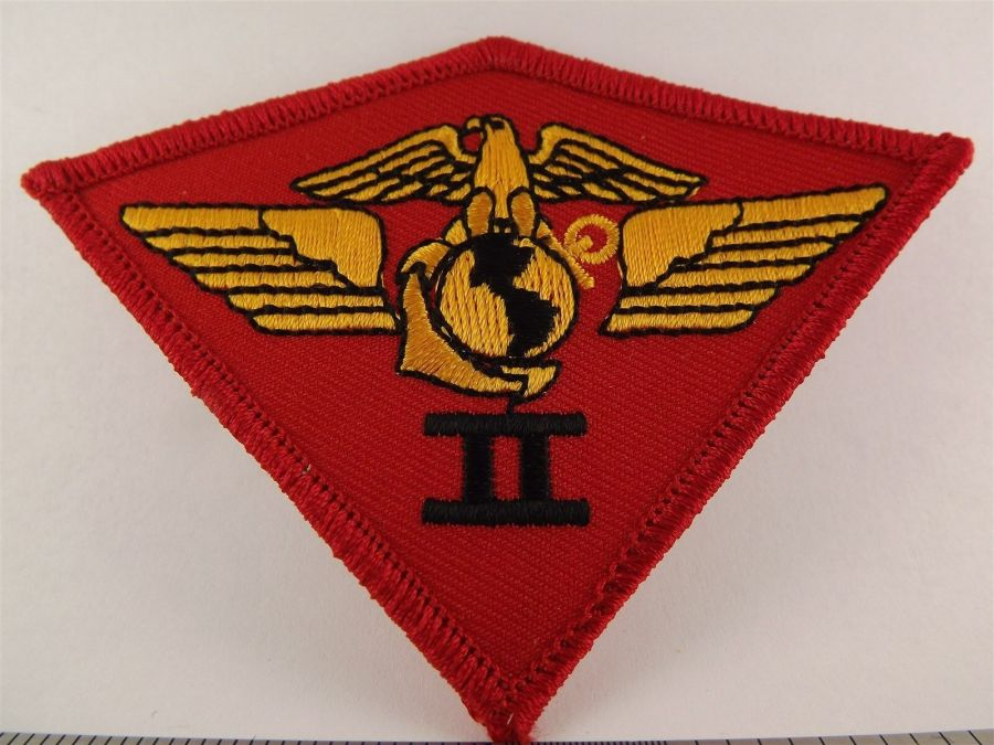 UNITED STATES MARINE USMC 2nd Air Wing Division Iron on Patch BRAND NEW 1