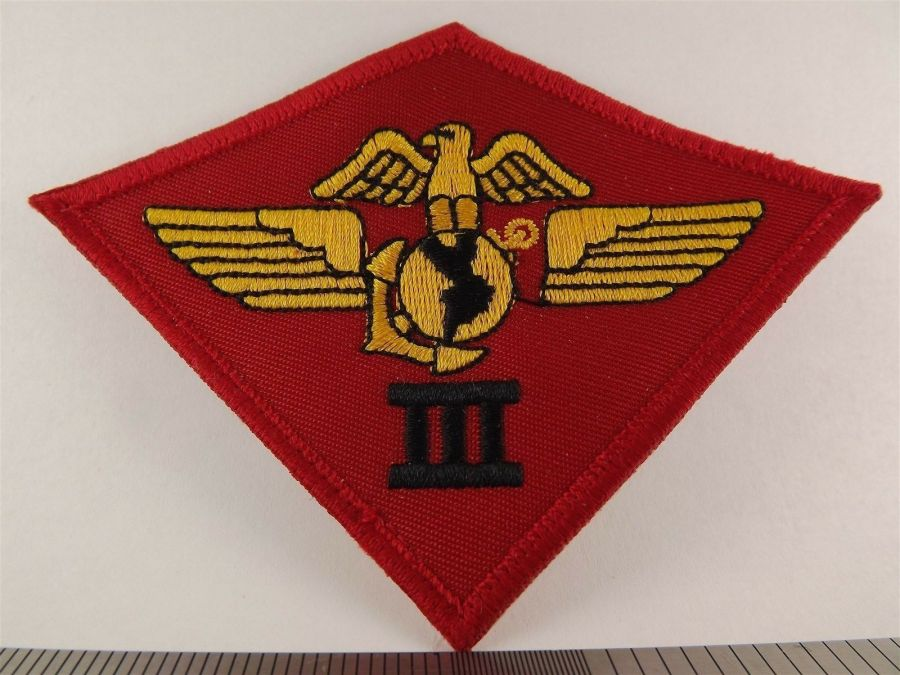 UNITED STATES MARINE USMC 3rd Air Wing Division Iron on Patch BRAND NEW 1