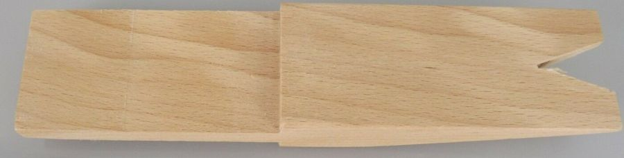 Wooden Pin for Bench Clamp 7-1/2-Inch by 1-1/2-Inch JEWELERS FILING 5