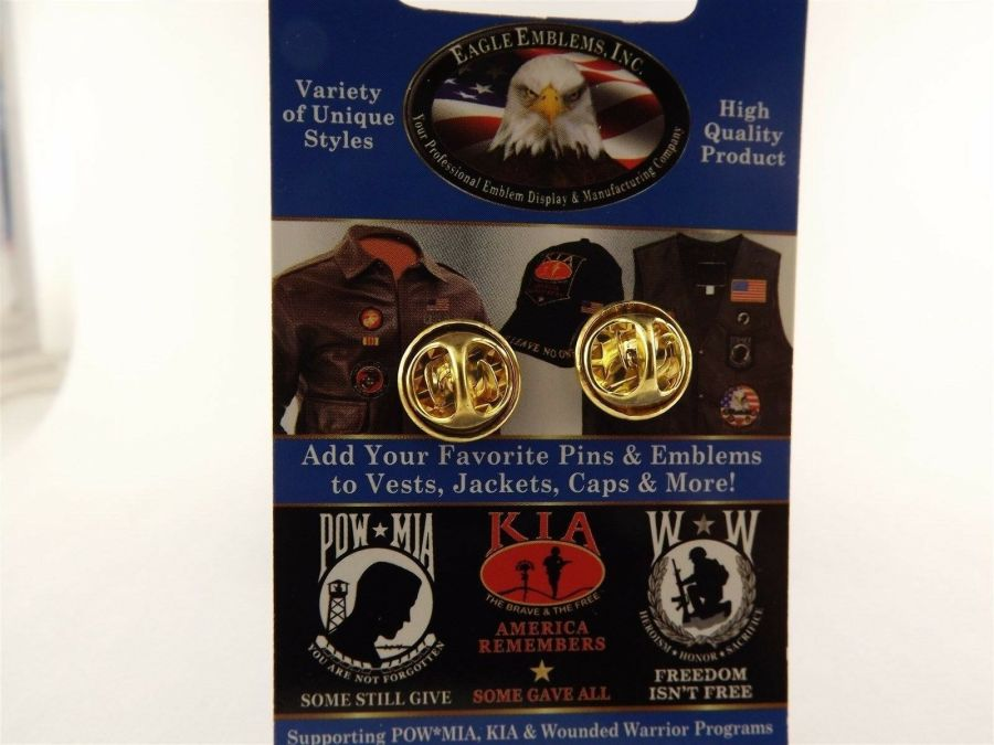 """BRAND NEW Lapel Pin WWII Ruptured Duck Honorable Discharge 7/8"""" 3"""