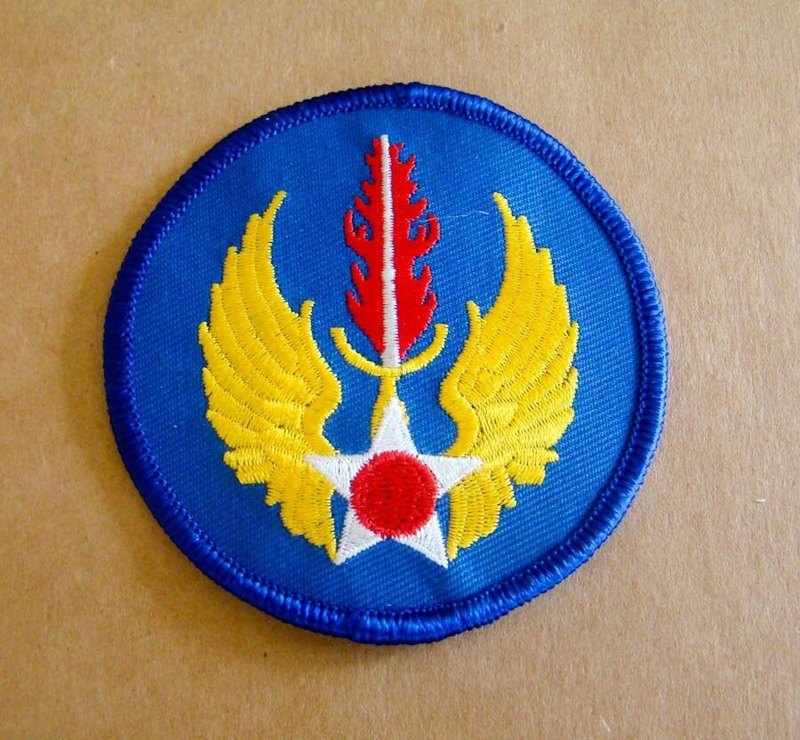 US Air Force European Air Command Iron On Patch 1