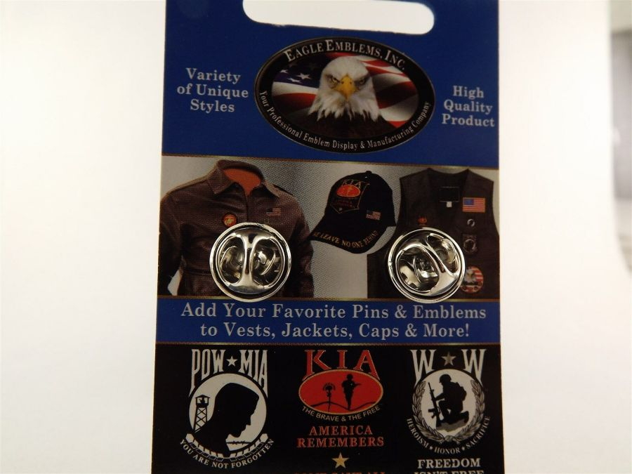 """BRAND NEW Lapel Pin US Army Senior Paratrooper Wings Pewter 1 1/4"""" 3"""