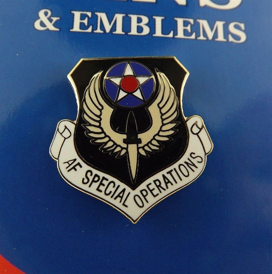 """BRAND NEW Lapel Pin United States Air Force Special Operations Enamel 1"""" 1"""