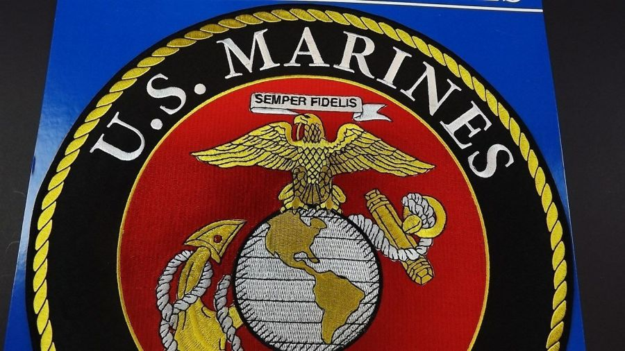 "Giant 12"" MARINE CORPS USMC PATCH LOGO ""SEMPER FI""  NEW QUALITY MADE EGA 3"