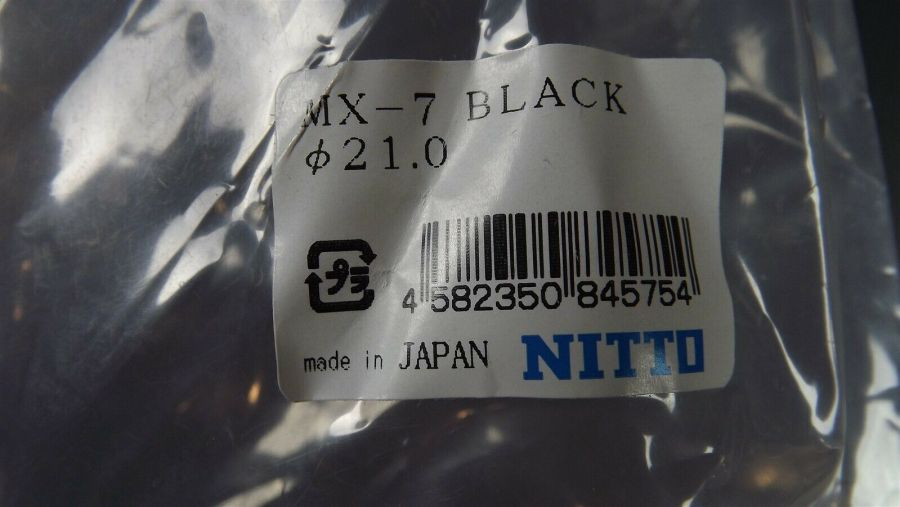 "New Nitto MX7 Old School BMX 1"" Stem ""BLACK"" Anodized Fits Redline SE Mongoose OLD SCHOOL BMX 6"