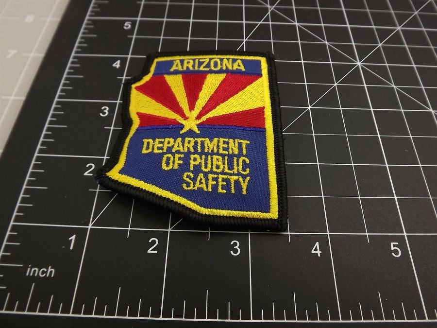 """BRAND NEW ARIZONA DEPARTMENT OF PUBLIC SAFETY POLICE PATCH 3"""" X 2.5"""" 3"""