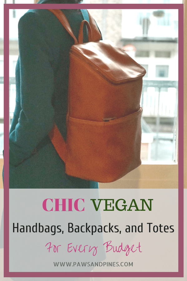 You need to check out the cutest vegan handbags on the market these days. Everything from stylish vegan purses to functional vegan backpacks, there are so many animal-friendly bags available compared to just a few years ago. I absolutely love my Matt & Nat backpack pictured, but there are so many others on my wishlist as well.