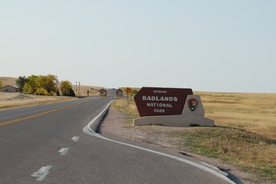 Pinnacles Entrance at the Badlands National Park