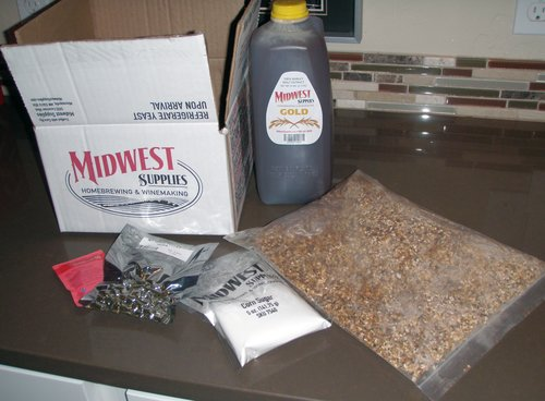 Beer Brewing Kit for the Black Dog Ale
