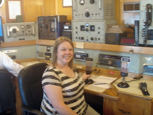 hmmm... not the sharpest photo but thanks for our new friend, the ham radio guy, who offered to take my photo