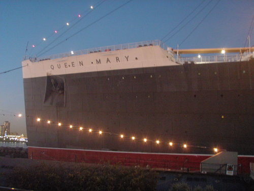 The Queen Mary in Long Beach California