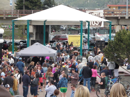 The live music at the 21st Annual Garden City Brew Fest