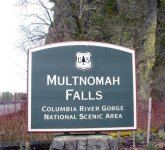 Visiting Multnomah Falls, Oregon
