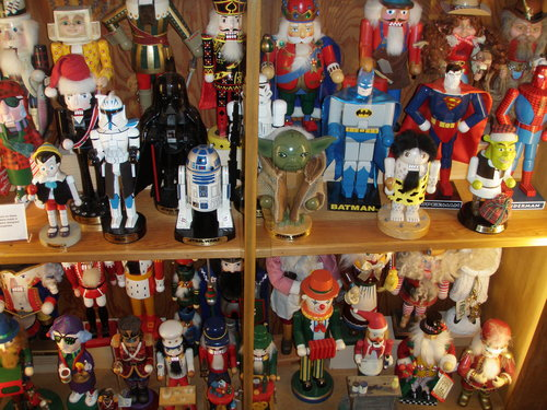 Star Wars and Super Hero themed Nutcrackers