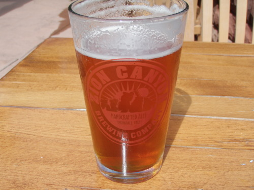 Zion Canyon Beer