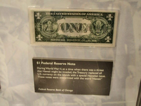 Money Museum at the Federal Reserve Bank, Chicago Illinois