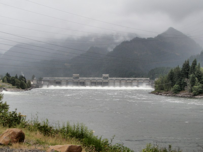 Bonneville Lock and Dam, Bonneville Oregon