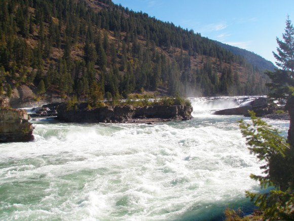 Kootenai Falls and The Swinging Bridge