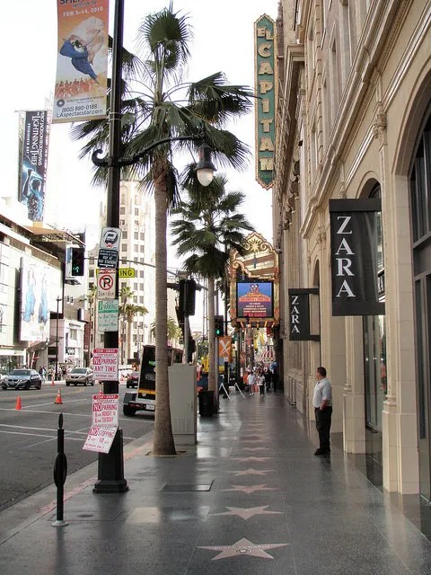 hollywood boulevard california