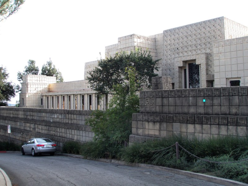 Ennis House Frank Lloyd Wright