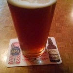 A tasty meal and beer at Moab Brewery, Moab Utah