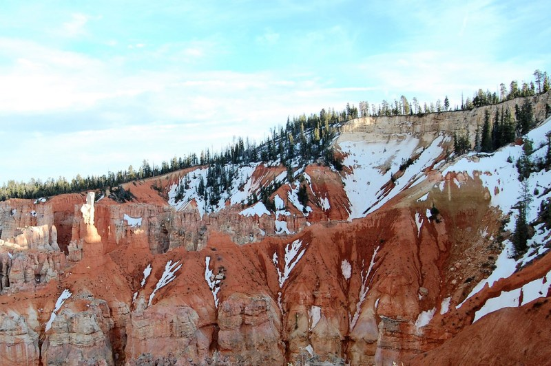 Bryce Canyon National Park at sunset