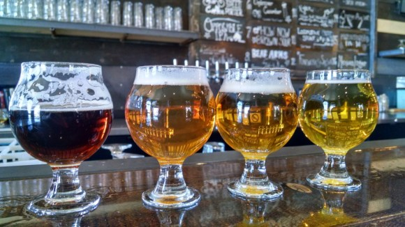 Beer Tasting Historic Brewing Company