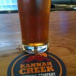 Beer Tasting At Kannah Creek Brewing Grand Junction Colorado