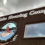 Beer Flights At Flathead Lake Brewing Company, Flathead Montana