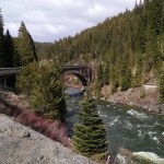 Leaving Paw Tracks Along Payette River Scenic Byway Idaho
