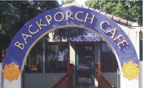 backporch cafe sign