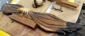 custom repairs and refurbishing eagle topview