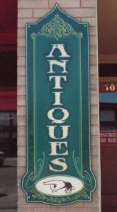hand painted sign photo