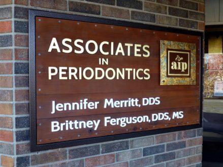 associates in periodontics sign