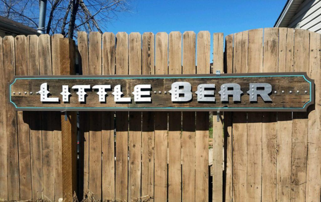 little bear sign