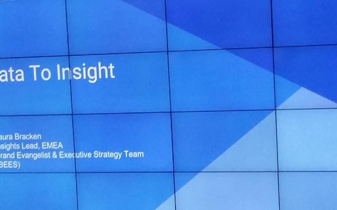 Google Breakfast Briefing: Data to Insight
