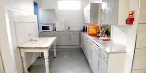 Kitchen on lower ground floor