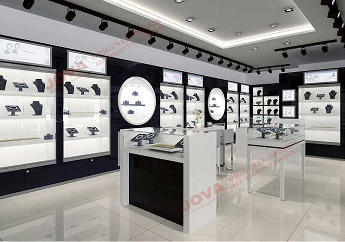 Jewellery Shop Furniture Design India