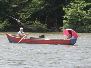 canoe transportation