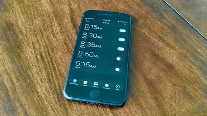 How Do I Add Alarm Clock To Control