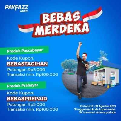 Promo Bebas Merdeka - Transfer Dana, Pascabayar, dan Prabayar