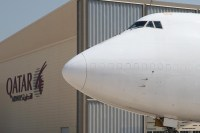 Qatar cargo b747-400BCF