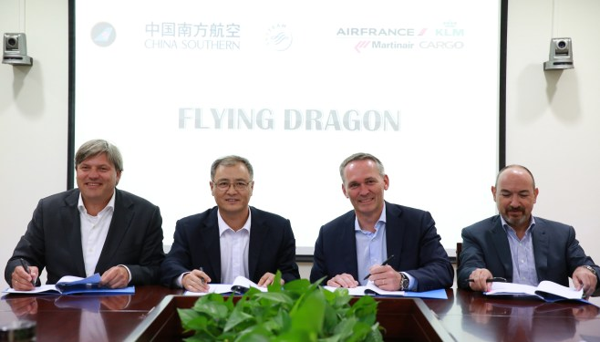 AF-KLM inks cargo partnership with China Southern