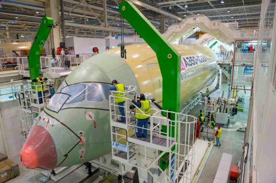 Airbus begins A350-1000 final assembly
