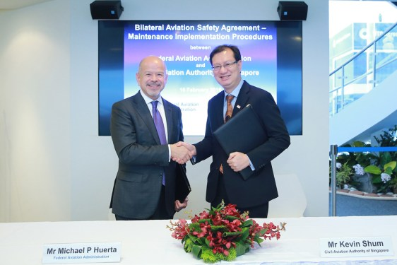 FAA, Singapore deepen cooperation on safety oversight
