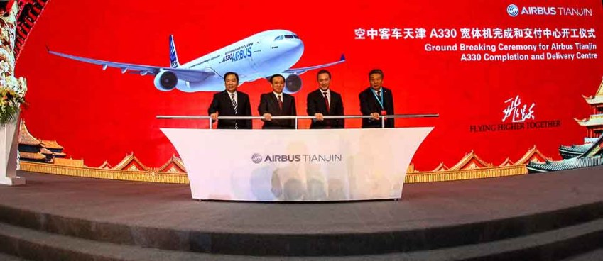 Airbus' China A330 Completion & Delivery Centre construction starts