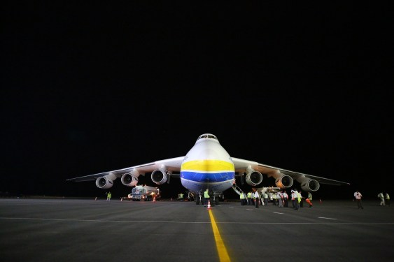 Hyderabad welcomes India's first Antonov 225 call