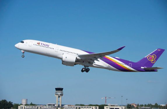 Thai Airways takes delivery of first A350-900