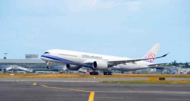 China Airlines becomes latest operator of the A350 XWB