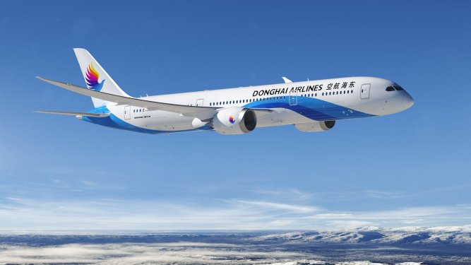 Donghai Airlines finalises order for five B787-9 Dreamliners